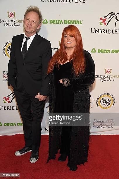 Singers Cactus Moser and Wynonna Judd attend Unbridled Eve Gala during the 142nd Kentucky Derby on May 6 2016 in Louisville Kentucky