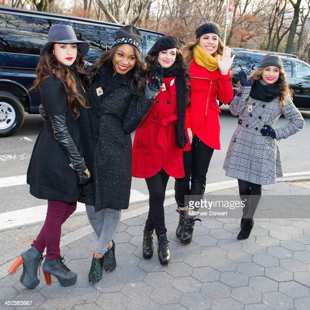 Singers Camila Cabello, Lauren Jauregui, Dinah-Jane Hansen, Normani Kordei and Ally Brooke of Fifth Harmony attend the 87th annual Macy's...