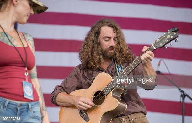 Casey kristofferson stock photos and pictures getty images singers casey kristofferson and hunter begley of yellow feather perform onstage during the 45th annual willie altavistaventures Images