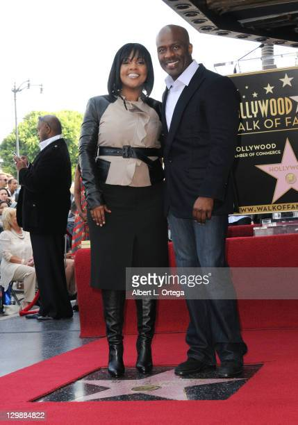 Singers CeCe Winans and BeBe Winans are honored with a star on the Hollywood Walk of Fame on October 20 2011 in Hollywood California