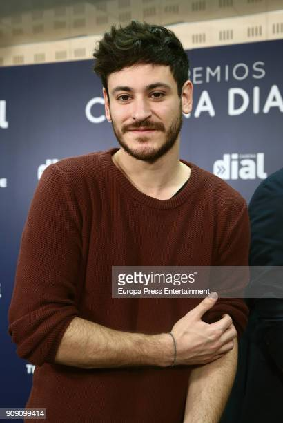 OT singers Cepeda attends Cadena Dial Awards press conference on January 22 2018 in Madrid Spain