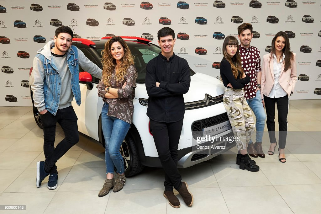 OT Singers Present New SUV Compacto Citroen C3 Aircross in Madrid