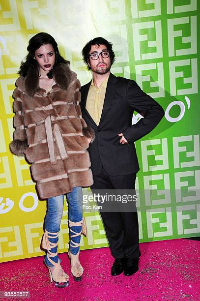 Singers Charlotte Kemp Muhl and Sean Lennon attend the Fendi 'O For Pixie Lott - Paris Fashion Week Spring/Summer 2010 at the VIP Room Theater on...