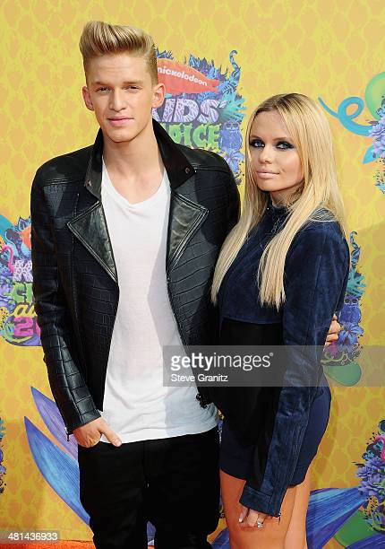Singers Cody Simpson and Alli Simpson attend Nickelodeon's 27th Annual Kids' Choice Awards held at USC Galen Center on March 29 2014 in Los Angeles...