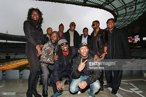 Singers Coumba Gawlo Seck Soul T of 'Negro Pou La Vi' Meiway Jessy Matador Alpha Blondy Manu Dibango Mokobe Salif Traore aka A'Salfo of Magic System...