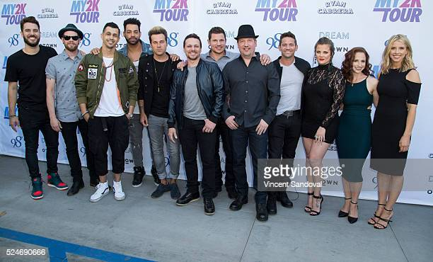 Singers Dan Miller Jacob Underwood ErikMichael Estrada Trevor Penick Ryan Cabrera Drew Lachey Nick Lachey Justin Jeffre Jeff Timmons Ashley Poole...