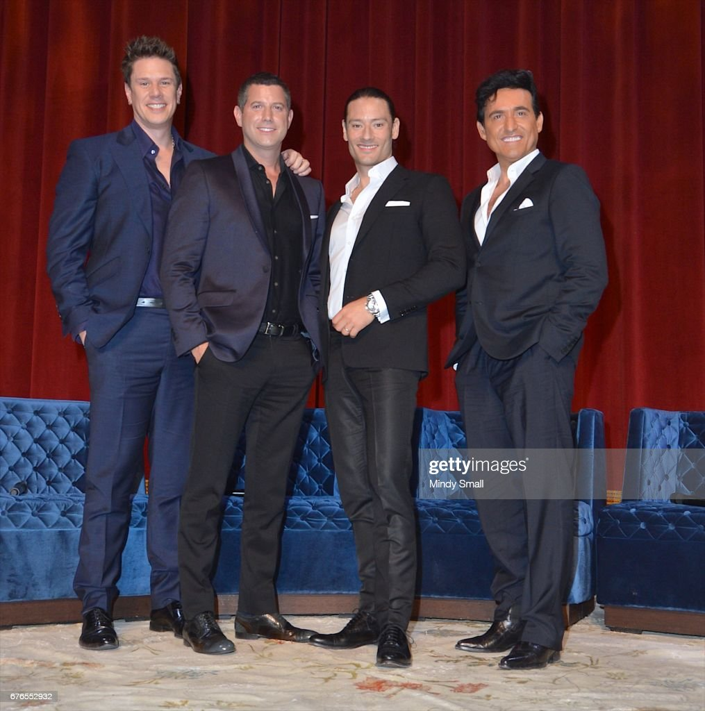 Il Divo Announced As Limited Engagement Headliner At The Venetian Las Vegas