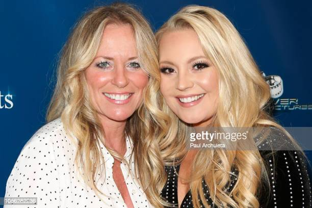 Singers Deana Carter and Janelle Arthur attend the premiere for Runnin' From My Roots at the Landmark Regent on November 1 2018 in Los Angeles...