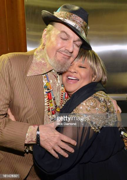 Singers Dr John and Mavis Staples attend the 55th Annual GRAMMY Awards at STAPLES Center on February 10 2013 in Los Angeles California
