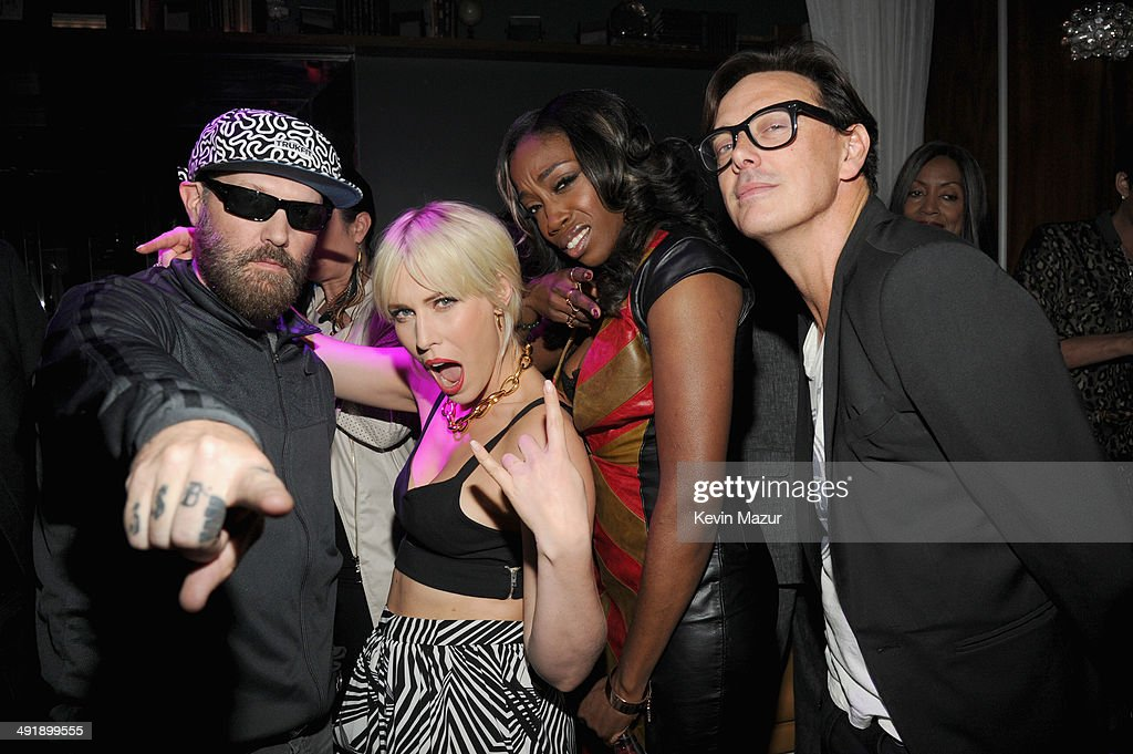 Singers Fred Durst, Natasha Bedingfield, Estelle, and Donovan Leitch attend the Official Pre-Party for the 2014 Billboard Music Awards, sponsored by Citi, at Hyde Bellagio on May 17, 2014 in Las Vegas, Nevada.
