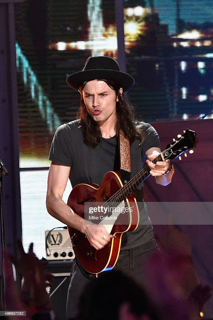 Singers James Bay performs onstage during the VH1 Big Music in 2015: You Oughta Know Concert at The Armory Foundation on November 12, 2015 in New York City.