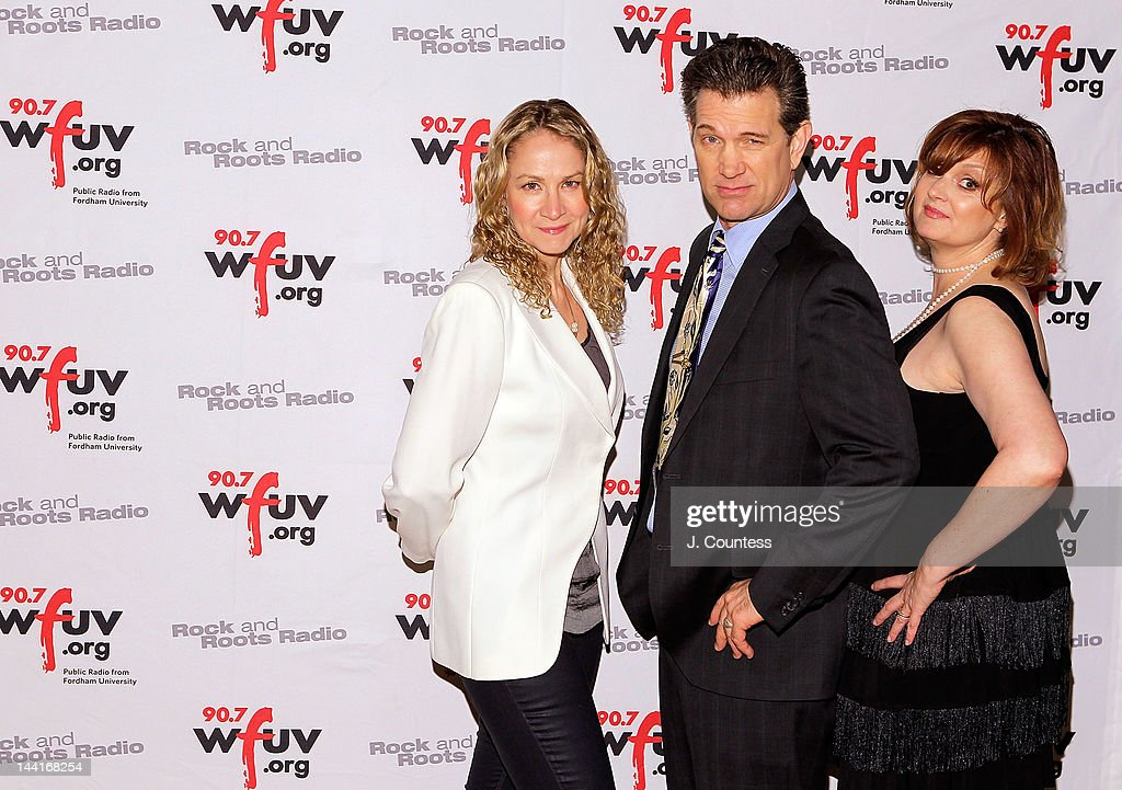 Singers Joan Osborne, Chris Isaak and musician Claudia Marshall attend the 5th Annual WFUV Radio Spring Gala at Gotham Hall on May 10, 2012 in New York City.