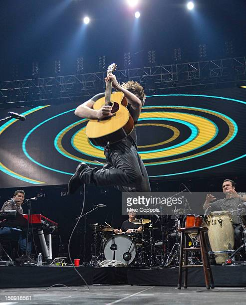 Singers Juanes performs at Barclays Center of Brooklyn on November 24 2012 in New York City