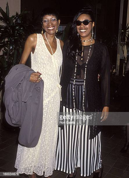 Singers June Pointer and Anita Pointer of The Pointer Sisters attend the First Annual Soul Train Comedy Awards on August 3 1993 at the Santa Monica...