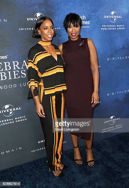 Singers Kelly Rowland and Jennifer Hudson attend the 2016 March of Dimes Celebration of Babies at the Beverly Wilshire Four Seasons Hotel on December...