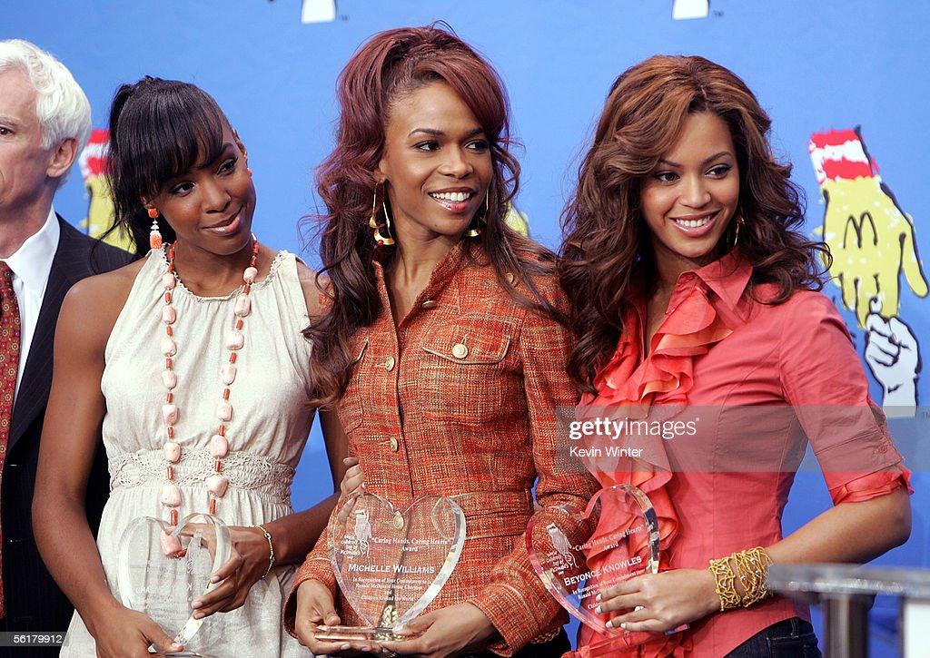 Destiny?s Child and Stars Celebrate World Children?s Day at McDonald?s : News Photo