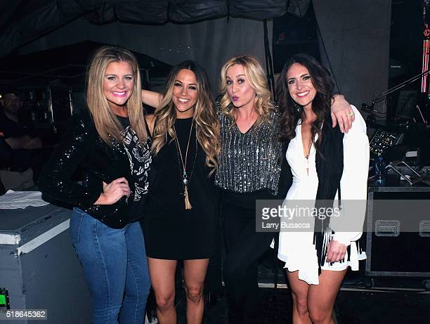 Singers Lauren Alaina Jana Kramer Kellie Pickler and Kelleigh Bannen attend the 4th ACM Party for a Cause Festival at the Las Vegas Festival Grounds...