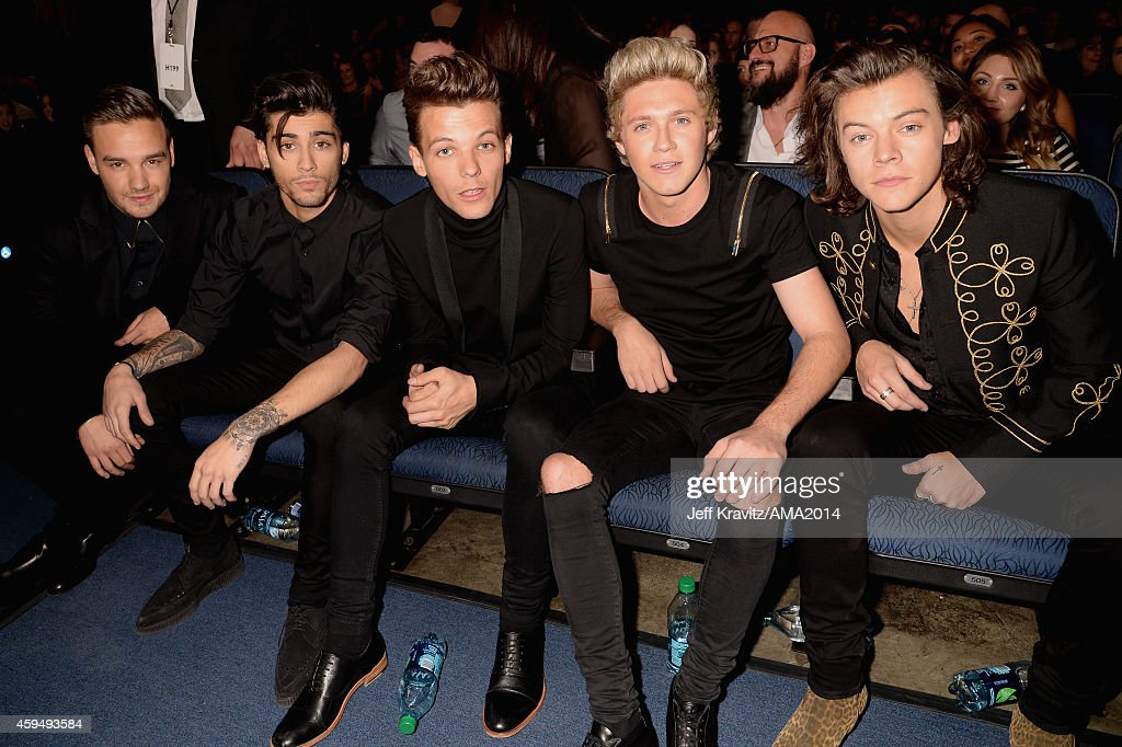 2014 American Music Awards -  Backstage And Audience : News Photo