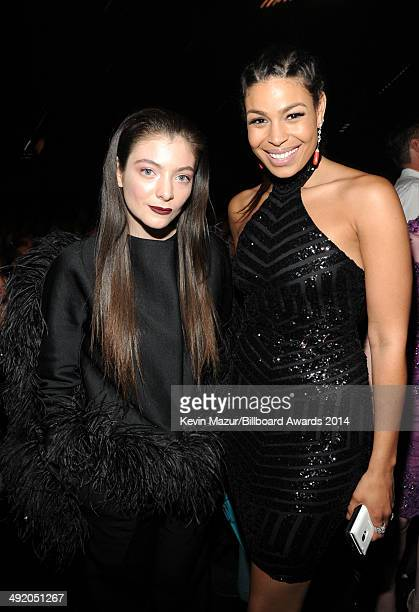 Singers Lorde and Jordin Sparks attend the 2014 Billboard Music Awards at the MGM Grand Garden Arena on May 18, 2014 in Las Vegas, Nevada.