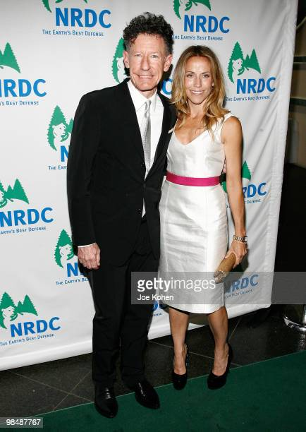 Singers Lyle Lovett and Sheryl Crow attends the 12th annual Forces for Nature gala benefit at Pier Sixty at Chelsea Piers on April 15 2010 in New...