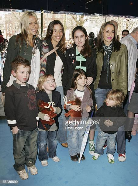 Singers Nicole Appleton Melanie Blatt and Natalie Appleton with Natalie's daughter Rachel and Liam Gallagher's sons Lennon and Gene AppletonGallagher...