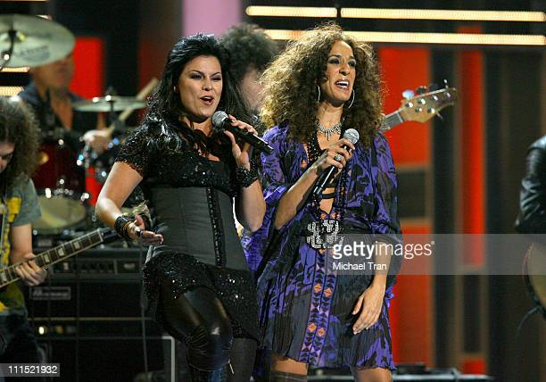 Singers Olga Tanon Rosario performs onstage during the 9th Annual Latin Grammy Awards held at Toyota Center on November 13 2008 in Houston Texas