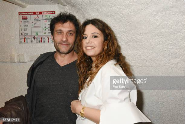 """Singers Pablo Villafranca and ChanezÊattend """"Attachiante"""" Chanez Concert and Birthday Party at Sentier des Halles Club on May 2, 2017 in Paris,..."""