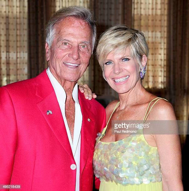 Singers Pat Boone and Debby Boone arriving at the Pat Boone 80th Birthday Celebrity Roast at The Beverly Hilton Hotel on June 1 2014 in Beverly Hills...