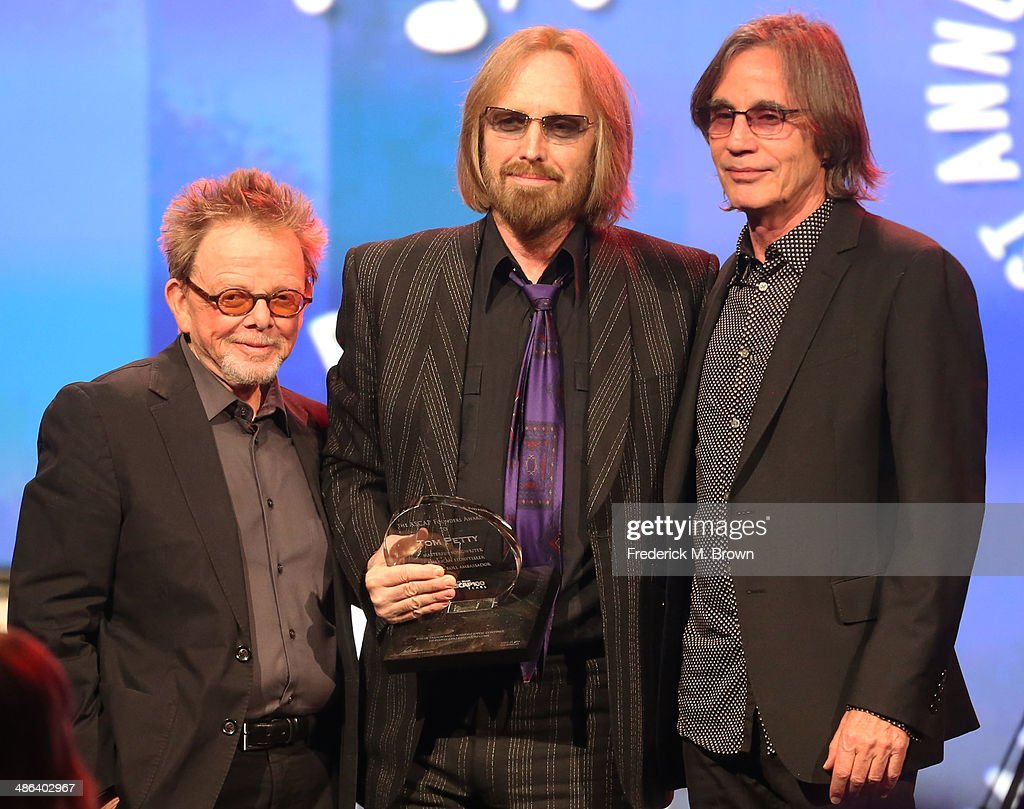 Singers Paul Williams, Tom Petty, and Jackson Browne speak during the 31st Annual ASCAP Pop Music Awards at The Ray Dolby Ballroom at the Hollywood & Highland Center on April 23, 2014 in Hollywood, California.