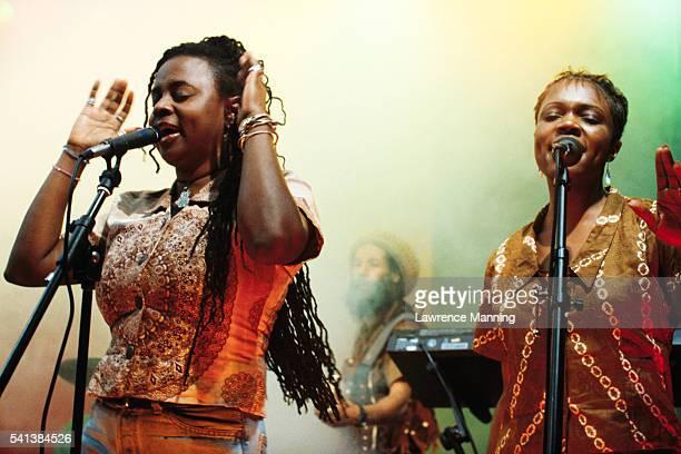Singers Performing in Reggae Band