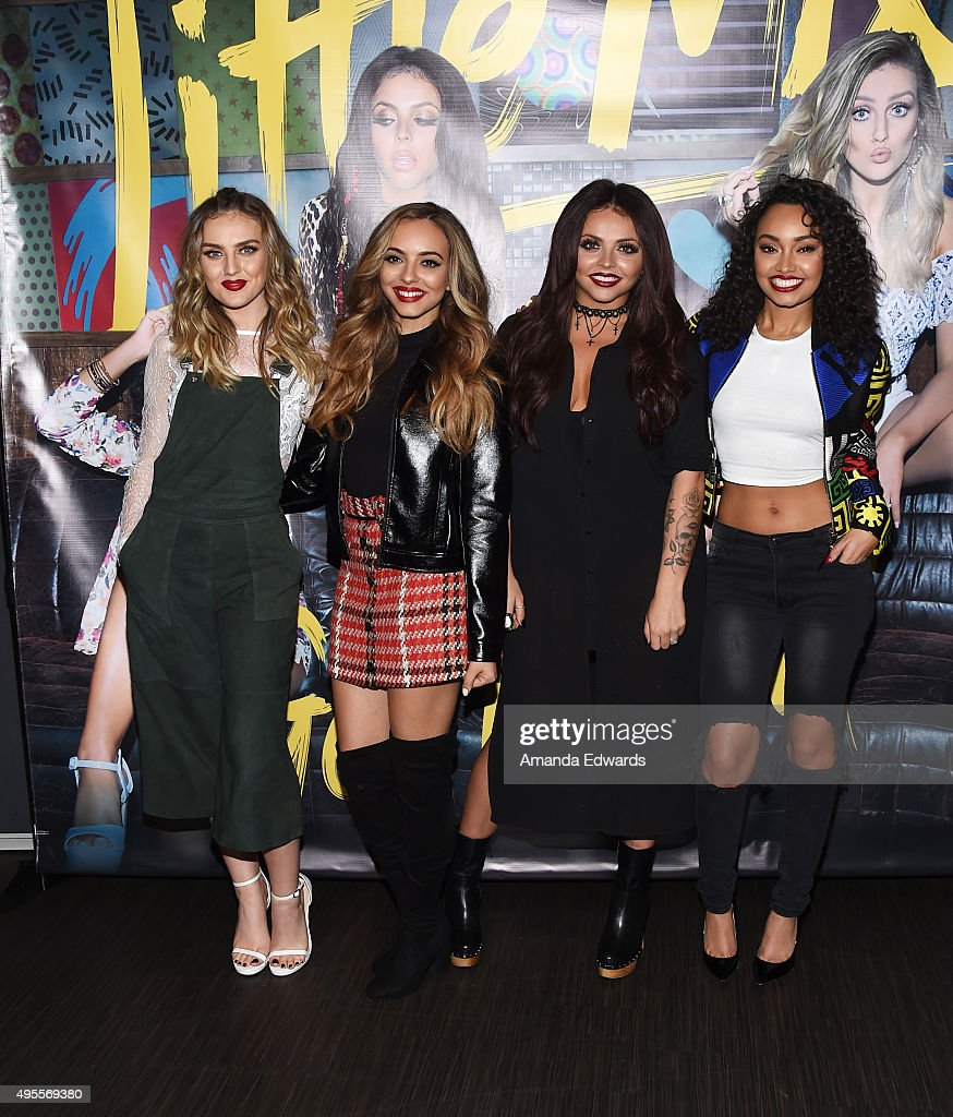 Singers Perrie Edwards Jade Thirlwall Jesy Nelson And Leigh Anne