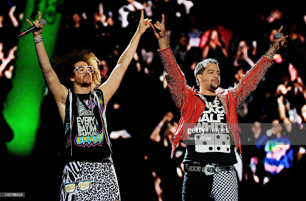 LMFAO And Far East Movement Perform At Staples Center