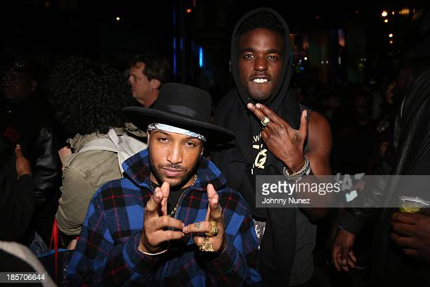 """Singers Ro James and Luke James attend Hot 97's """"Who's Next"""" at SOB's on October 23, 2013 in New York City."""