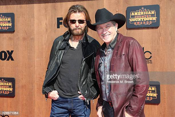 Singers Ronnie Dunn and Kix Brooks of Brooks Dunn attend the 2016 American Country Countdown Awards at The Forum on May 1 2016 in Inglewood California