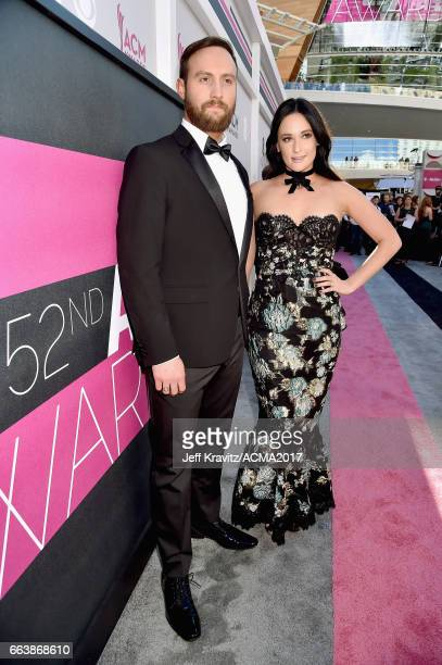 Singers Ruston Kelly and Kasey Musgraves attend the 52nd Academy Of Country Music Awards at Toshiba Plaza on April 2 2017 in Las Vegas Nevada