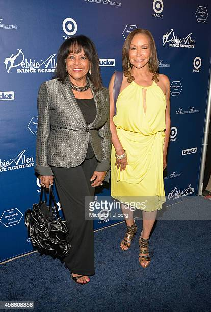 Singers Scherrie Payne and Freda Payne attend the 'Impressions A Magical Night Of Dance' fundraiser for the Debbie Allen Dance Academy at The Wallis...