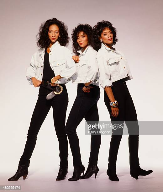 Singers Sister Sledge poses for a portrait in 1994 in Los Angeles California