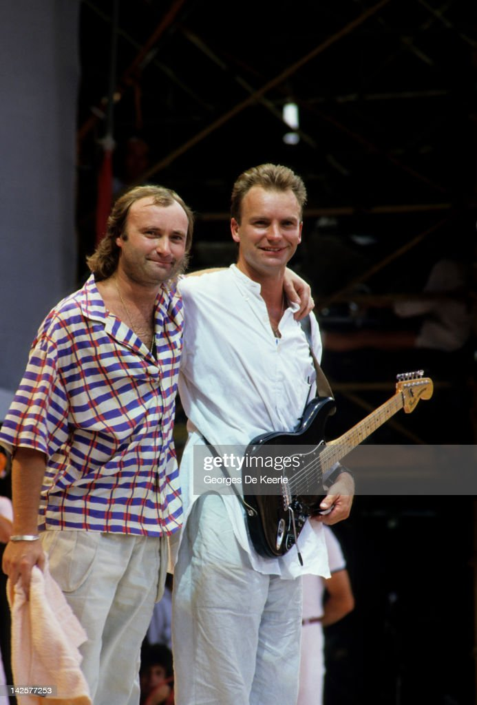 Live Aid : News Photo