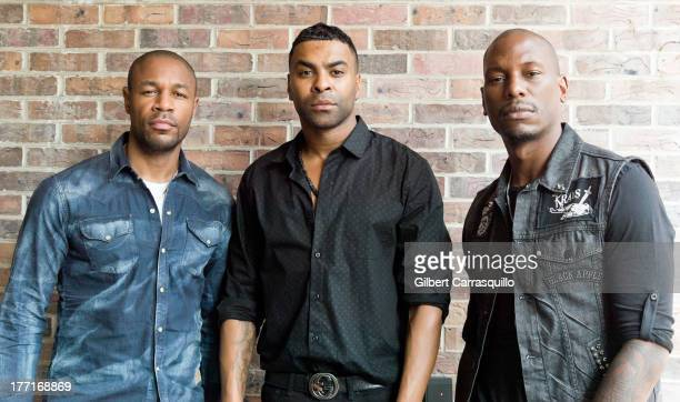 Singers Tank Ginuwine and Tyrese Gibson of the RB group TGT visit Fox 29's Good Day at FOX 29 Studio to promote their debut album 3 Kings on August...