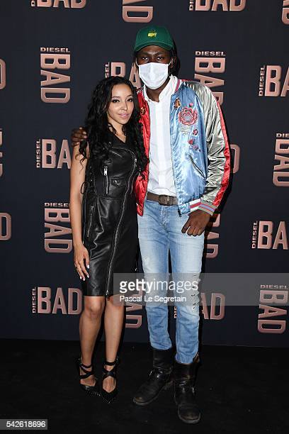 Singers Tinashe and Theophilus London attends the Diesel Party for the Launch of New Fragance For Men on June 23 2016 in Paris France