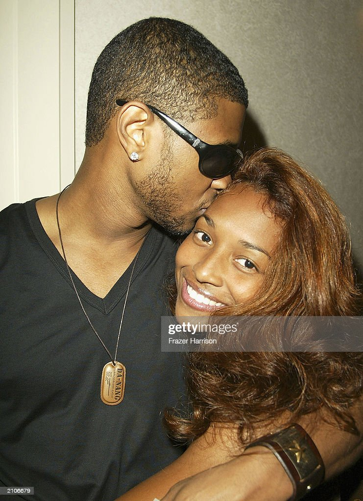 Usher and 'Chilli' Thomas