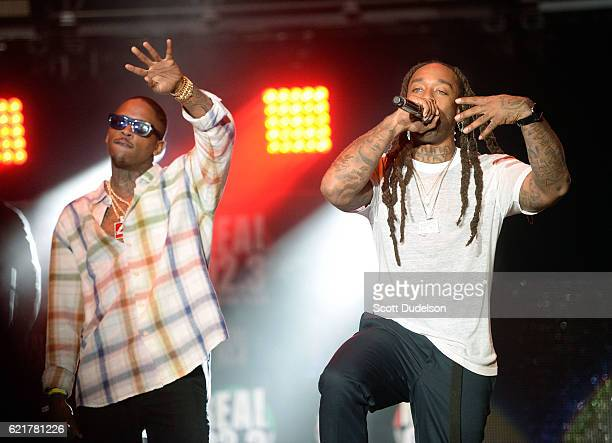 Singers YG and Ty Dolla $ign perform onstage during the 923 Real Show at The Forum on November 5 2016 in Inglewood California