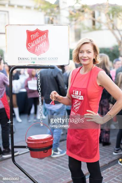 Singersogwriter Kiki Ebsen attends The Salvation Army Celebrity Kettle Kickoff Red Kettle Hollywood at the Original Farmers Market on November 30...