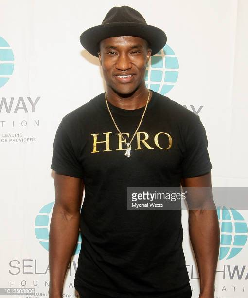 Singer/Song Writer Dee Mo attends the Selah Way Foundation Luncheon at Wells Fargo 42nd St on August 8 2018 in New York City