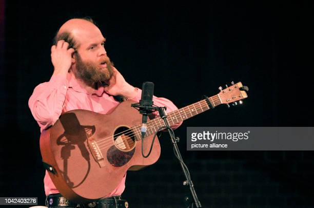 Singer-song writer guitarist and actor Bonnie Prince Billy alias Will Oldham performs in the Apostle Paul Church in Berlin, Germany, 4 March 2014....