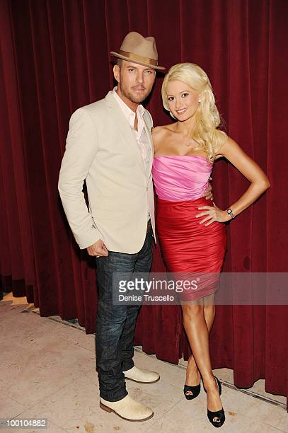 Singer/song writer Matt Goss and actress Holly Madison at a screening of Universal Pictures' Get Him to the Greek at the Planet Hollywood Resort...