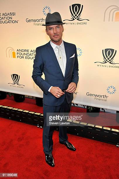 Singer/song writter Matt Goss arrives at the 14th annual Andre Agassi Charitable Foundation's Grand Slam for Children benefit concert at the Wynn Las...