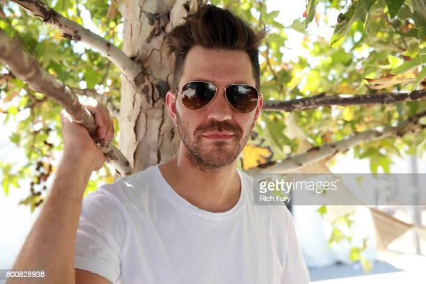 Singer/songerwriter Andy Grammer poses for a portrait during Arroyo Seco Weekend at the Brookside Golf Course at on June 25 2017 in Pasadena...