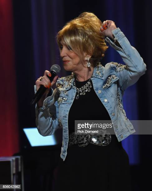 Singer/Songwriter 50 year member of The Opry Jeannie Seely performs during Grand Ole Opry Total Eclipse 2017 Special Sunday Night Show at Grand Ole...