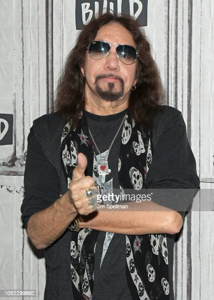 Singer/songwriter Ace Frehley attends the Build Series to discuss 'Spaceman' at Build Studio on October 16 2018 in New York City